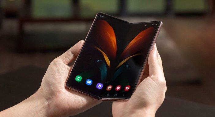 Гибкий экран Galaxy Z Fold 2