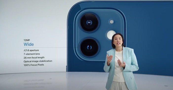 Особенности новой камеры iPhone 12