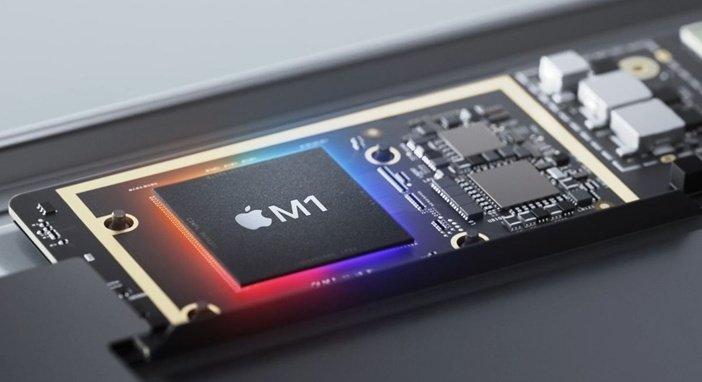 M1 внутри ноутбука MacBook