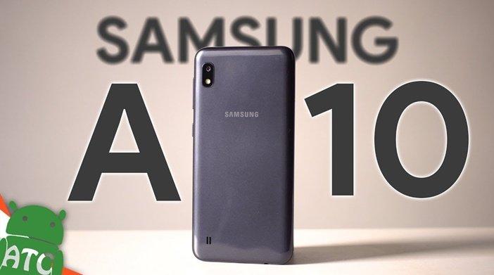 Galaxy A10 - один из самых продаваемых смартфонов в России