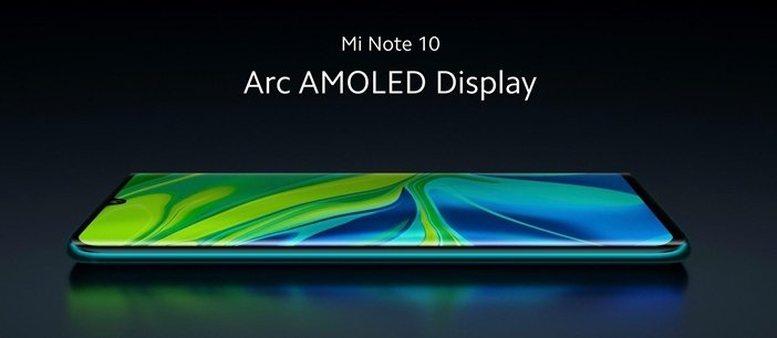 Mi Note 10 - первый смартфон Xiaomi с изогнутым дисплеем
