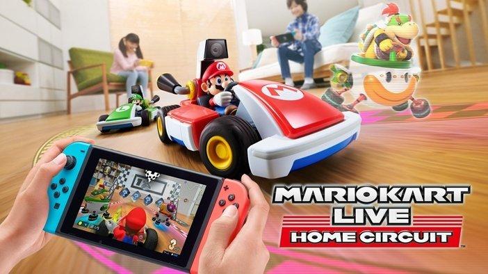 Игрушечные машинки с Марио от Nintendo - отличный подарок для детей и всей семьи