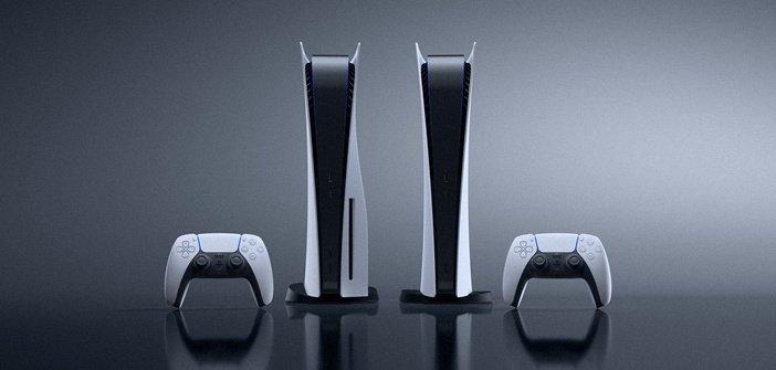 Стандартная и цифровая версии PlayStation 5