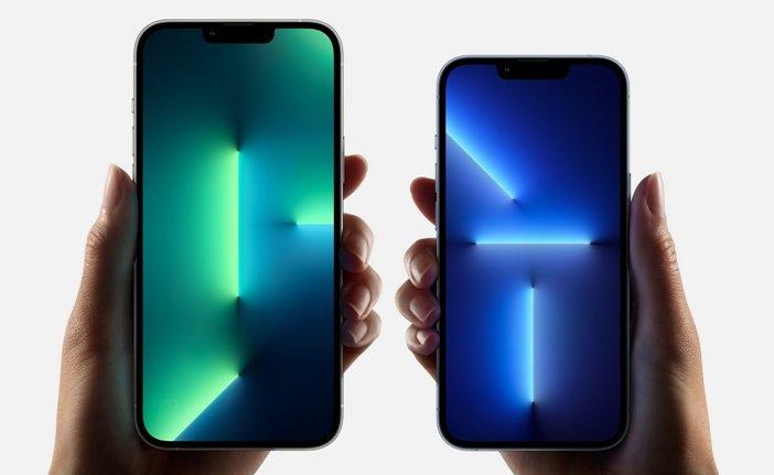 Экраны iPhone 13 Pro Max и 13 Pro