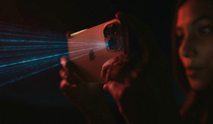 Сканер LiDAR в iPhone Pro