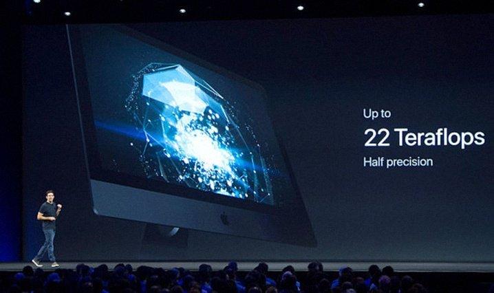 iMac Pro производительность графики