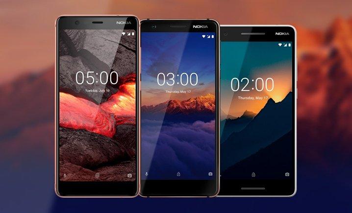 Новые смартфоны Nokia 2018